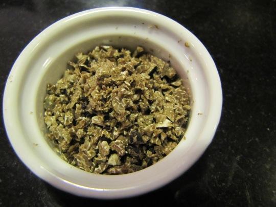 Minced black truffle