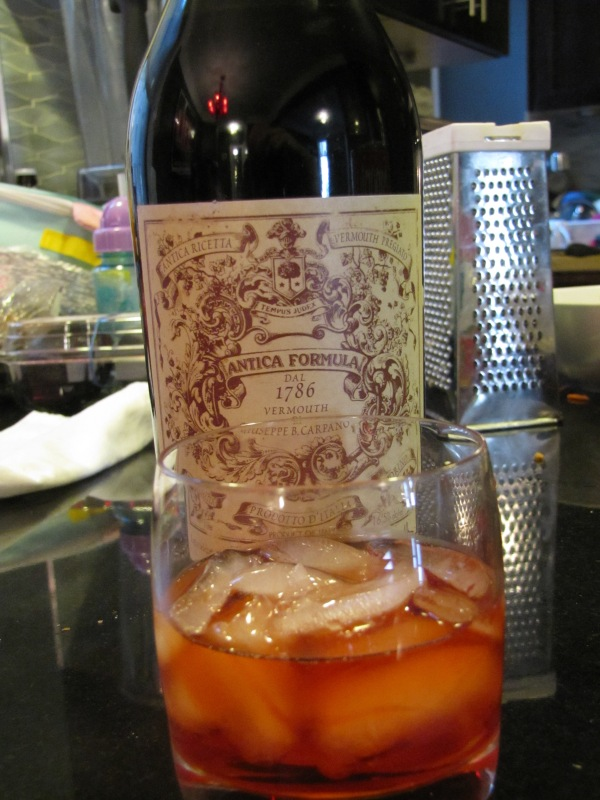 My Negroni with Antico Vermouth