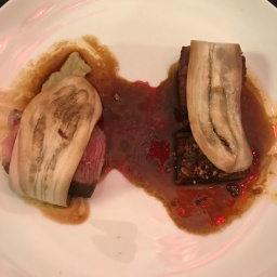 Eleven Madison Park: Aged Beef with Eggplant