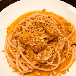 Battersby: Spaghetti with Chile and Sea Urchin